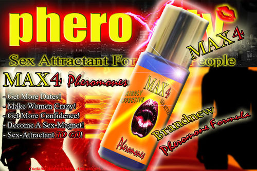 Max4 pheroXity Pheromones for MAN - 12 ml