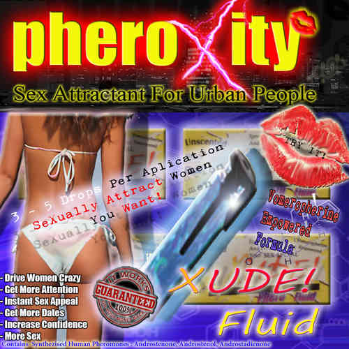 pheroXity XUDE FLUID! ADDITIVE Pheromones for Man - 2 ml Vial